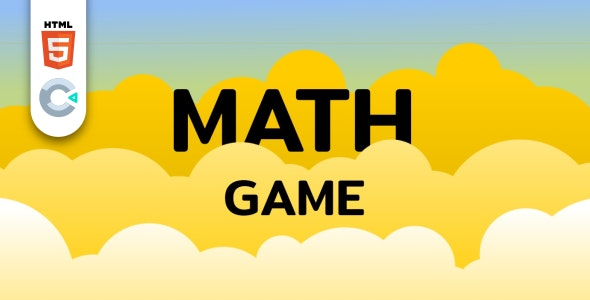 Math Game - HTML5 Educational Game - CodeCanyon Item for Sale