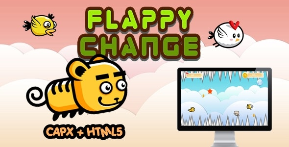 Flappy Change - Construct 2 Html5 Game - CodeCanyon Item for Sale