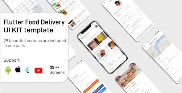 Food Delivery Flutter App UIKIT