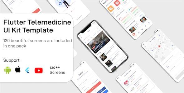 Medical Telemedicine Flutter App UIKIT