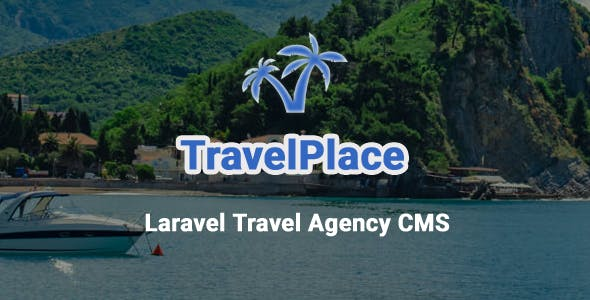 TravelPlace - Laravel Travel Agency CMS with Online Booking