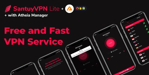 VPN Lite fast, light, unlimited bandwith VPN with admob and in app subscription - CodeCanyon Item for Sale