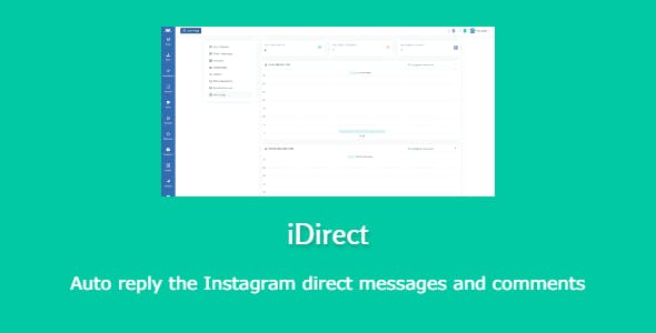 iDirect - auto reply direct messages and comments on Instagram