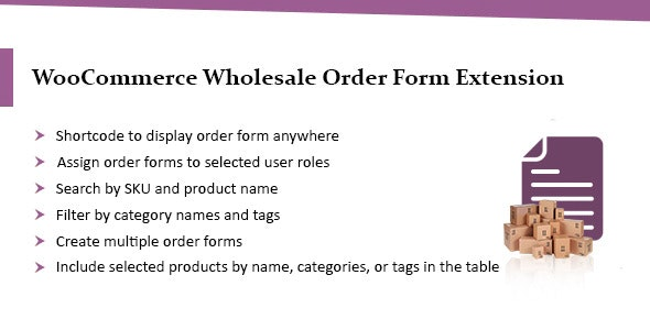 WooCommerce Wholesale Order Form - B2B Order Table - CodeCanyon Item for Sale