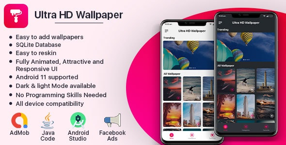 Ultra HD Wallpaper (Fully Animated UI) - CodeCanyon Item for Sale
