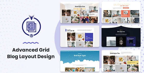 Advanced Grid Blog Layout Design - CodeCanyon Item for Sale