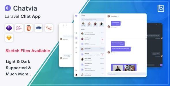 Chatvia - Laravel Pusher Chat App