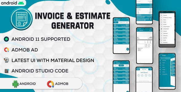 Invoice & Estimate Generator   Simple Invoice Manager   Invoice Estimate Receipt   Android Code - CodeCanyon Item for Sale