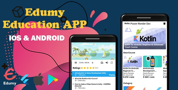 Edumy - Education App, Quiz, Badge with Admin Panel - CodeCanyon Item for Sale