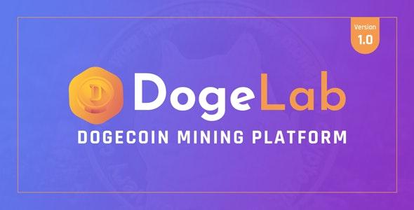 DogeLab - Cloud DogeCoin Mining Platform - CodeCanyon Item for Sale