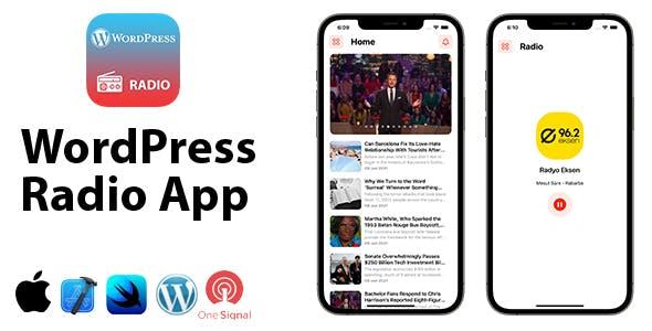 WordPress Radio App | Full SwiftUI iOS Application