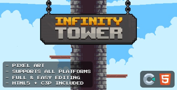 Infinity Tower - HTML5 Game - CodeCanyon Item for Sale