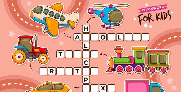 Crossword for Kids | Construct 3