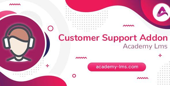 Academy LMS Customer Support Addon