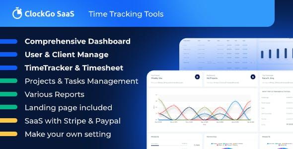 ClockGo SaaS - Time Tracking Tool