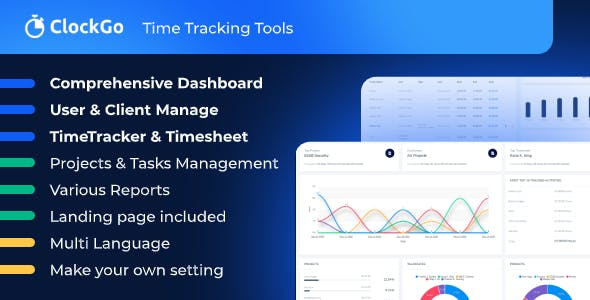 ClockGo - Time Tracking Tool