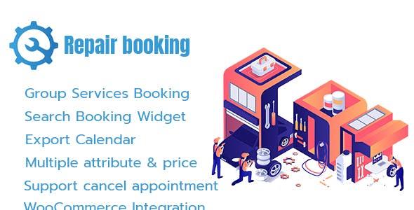 Repair Booking - WordPress booking system for repair service industries