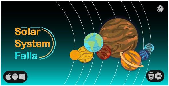 Solar System Falls | HTML5 • Construct Game