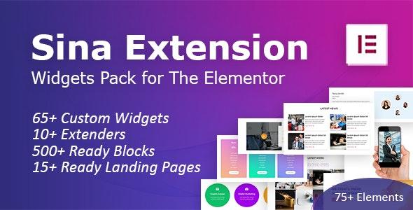 SEFE v1.8.0 – Sina Extension for Elementor