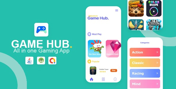 Game Hub v1.0 – All in one game app