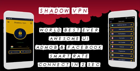 Shadow Vpn - super fast, openconnect, secure and stable Vpn