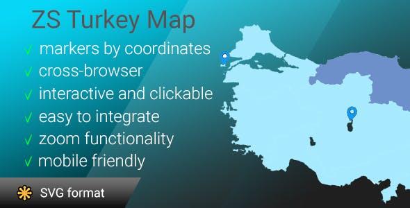 ZS Turkey map