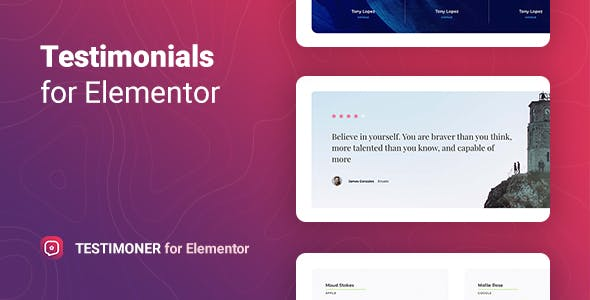 Testimoner – Reviews with Microdata for Elementor