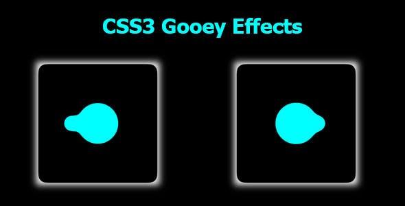 CSS3 Gooey Effects