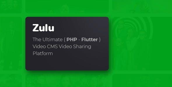 Zulu - The Movies Platform - SaaS Ready + Web App + Mobile App + Dashboard