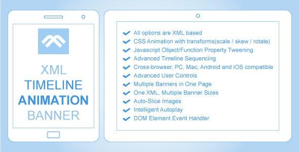 XML Timeline Animation Banner