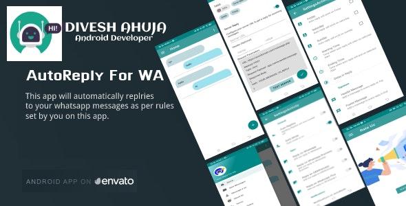 AutoReply For WA(Bulk Whatsapp) - CodeCanyon Item for Sale