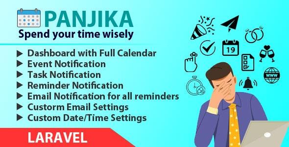 Panjika - Laravel Calendar - CodeCanyon Item for Sale