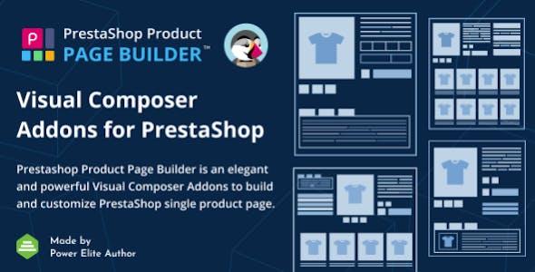 PrestaShop Product Page Builder Visual Composer Addons
