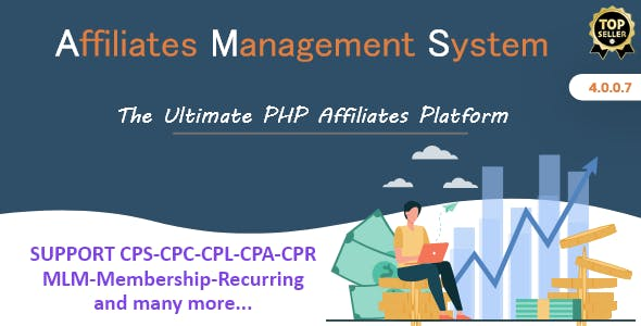 Ultimate Affiliates Management System - PHP Software