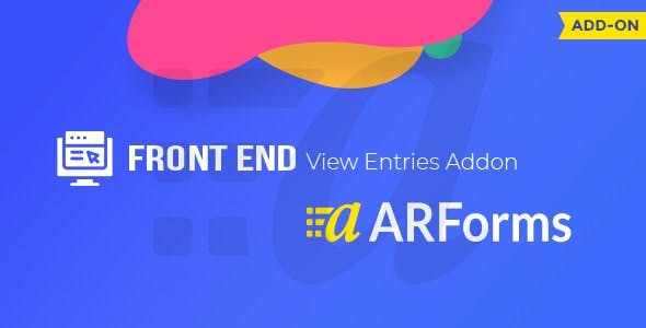 Front-end Entries View For ARForms