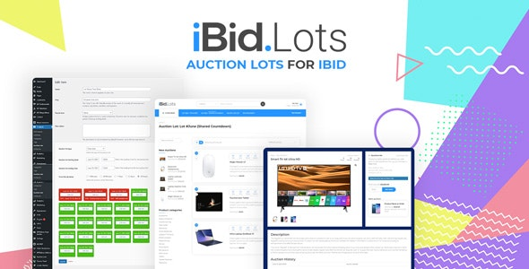 Auction Lots for iBid Theme - CodeCanyon Item for Sale