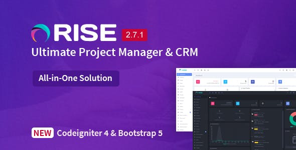RISE - Ultimate Project Manager & CRM