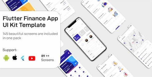 Finance App Flutter UIKit