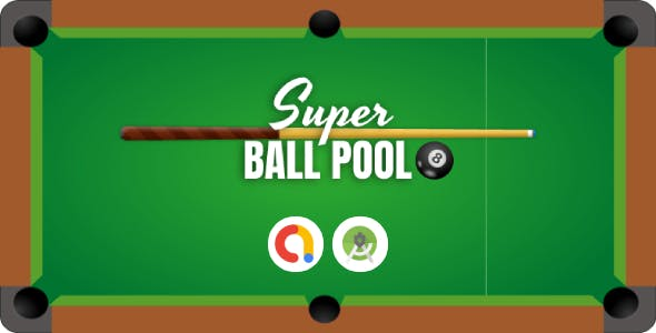 Super Ball Pool Android Studio Game with AdMob + Ready to Publish