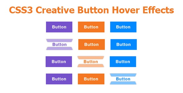 CSS3 Creative Button Hover Effects - CodeCanyon Item for Sale