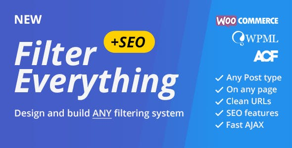Filter Everything — WordPress & WooCommerce products Filter