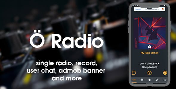 Ö Radio - live radio for android with chat