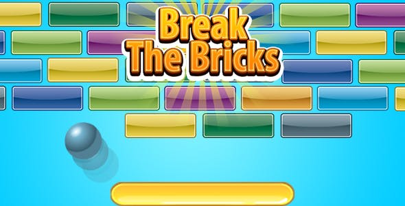 Break The Bricks (CAPX   HTML5   Cordova) Mini Game