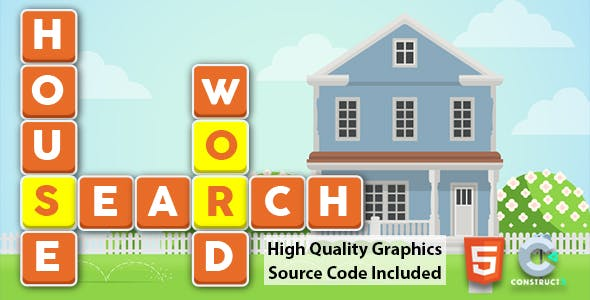 House Word Search for Kids