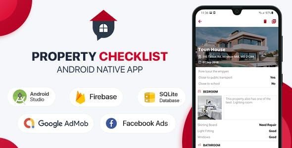 Property Checklist - Android (Kotlin)