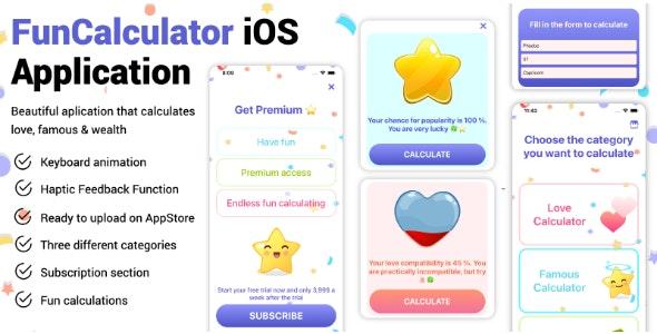 Fun Calculator - full iOS Application - CodeCanyon Item for Sale