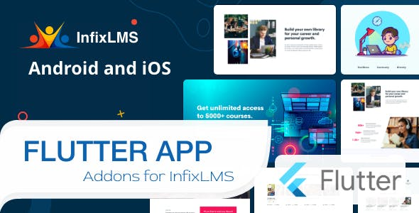 Infix LMS Flutter - Flutter Mobile App for Android and iOS