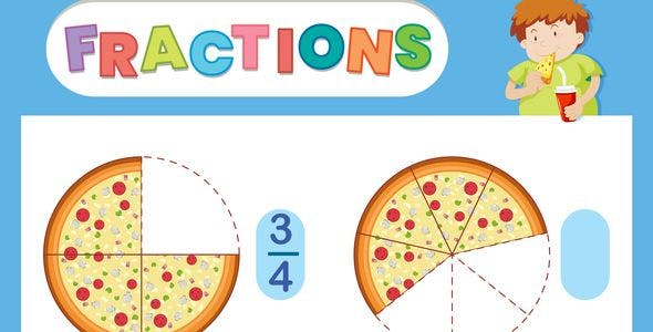 Simple Fractions Eductional Game | Construct 3