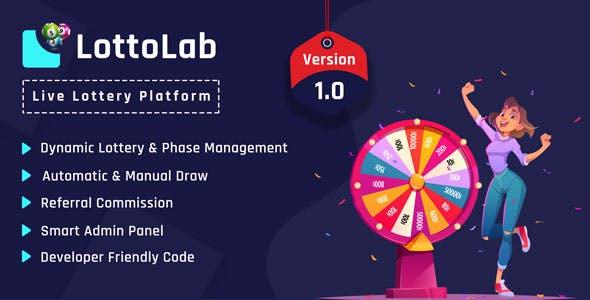 LottoLab - Live Lottery Platform