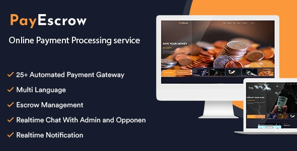 PayEscrow v2.0 – Online Payment Processing Service